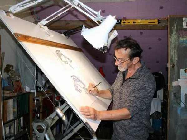 Pascal Lamic - Tableaux à l'encre de chine