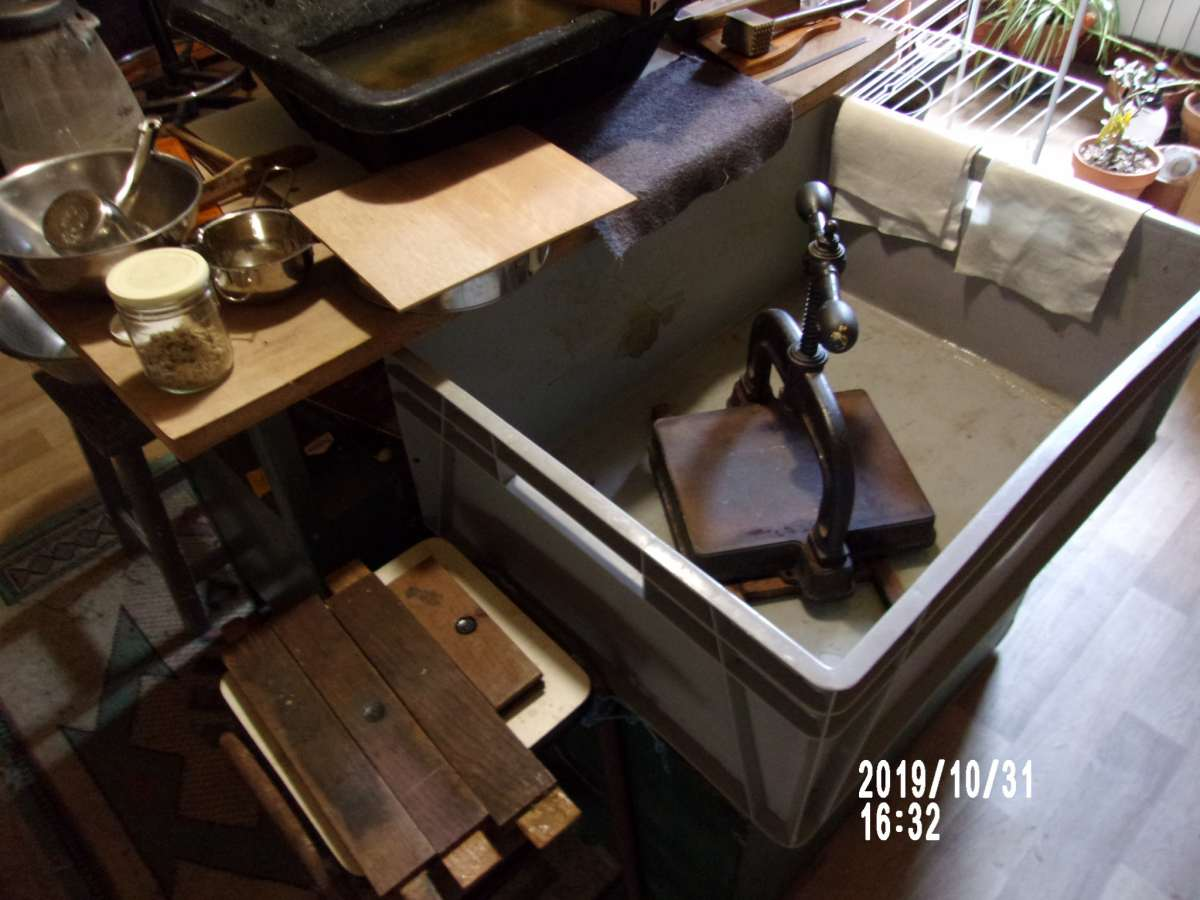 Fabrication de papiers végétal à Martel par Yohann JoPo