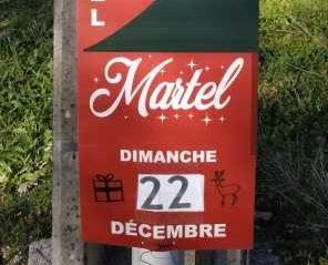 Marché de Noël de Martel, 4 Zébulons présents :)